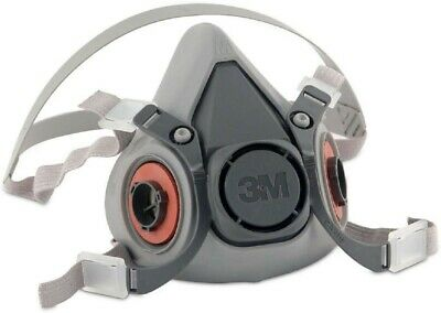 3M Half Facepiece Respirator 6200 Medium  | SHIPPED FROM US |