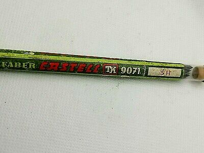 vintage pencil leads 2mm AW FABER Castell - TK 9071 - 5H - made in Germany