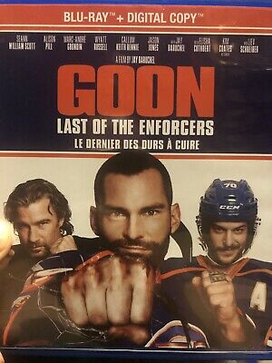 Goon last Of The Enforcers Digital Copy From Blu Ray NEW