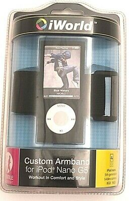 iWorld CustomArmband for iPod Nano G5 Black A0104