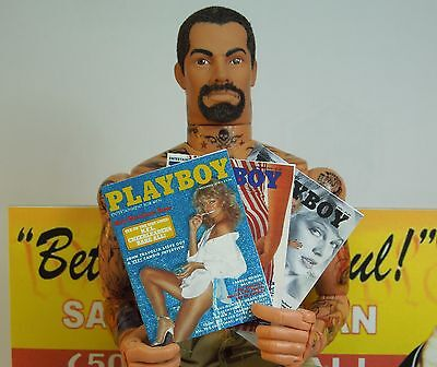 1//18 Scale Custom Order Playboy Set of  Magazines and Ration Boxes