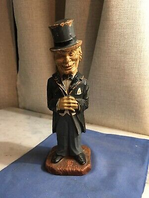 Vintage/Antique Original Syroco Wood Old Codger Dr Jekyll Corkscrew Figural