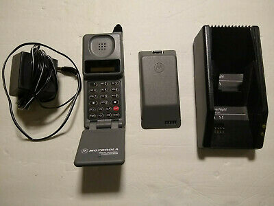 Vintage Motorolla Model 76439NARSB working with battery, charger & car charger