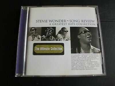 Stevie Wonder - Song Review CD  (A Greatest Hits Collection, 1998)