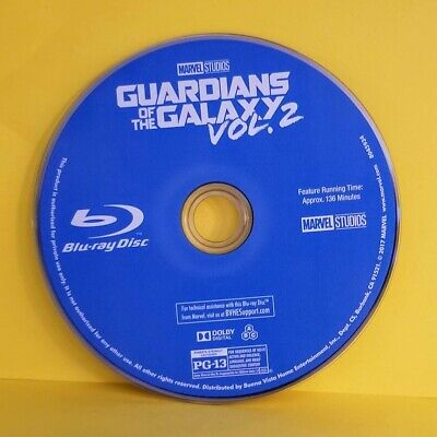 Guardians Of The Galaxy Vol 2 Blu-Ray Disc Only