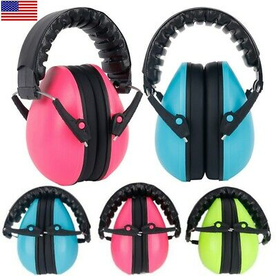 Kids Baby Child Folding Ear Muff Noise Reduction Headset Ear Protector Comfort