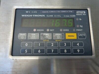 Avery Weigh-Tronix WI-125 Digital Scale LCD Display Controller