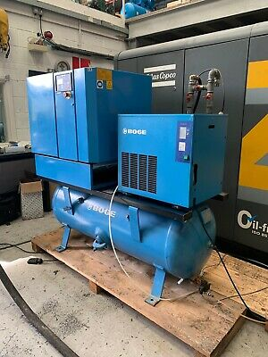 Boge S15 Screw Compressor With Dryer 10bar 52cfm