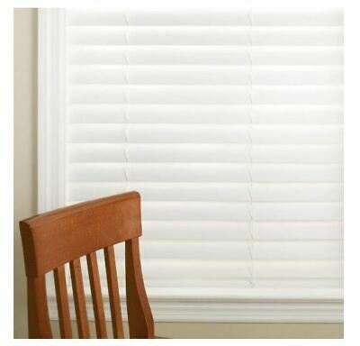 """🎇NEW SIZES ADDED🎇Home Decorator White Cordless 2"""" in Faux Wood Blind"""