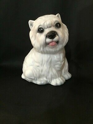 INTRADA OF ITALY Beautiful Ceramic Dog Figurine West Highland Terrier