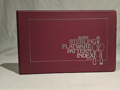 Sterling Flatware Pattern Index 2nd Edition 1989 Jeweler's Circular/Keystone