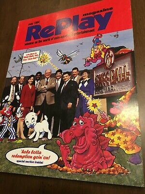 Replay May 1994 Rescue 911 and Demolition Man Pinballs Super Chexx Hockey