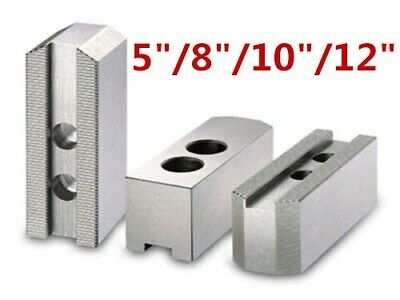"5/""//8/""10/""//12/"" Soft Jaws For Hydraulic Chuck Durable Replacement Lathe Chuck"