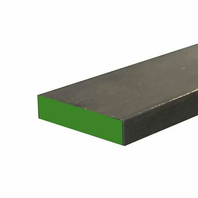 """1018 Cold Finished Steel Rectangle Bar, 1/2"""" x 1"""" x 72"""" (2 Pack)"""
