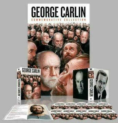 George Carlin Commemorative Collection Brand New 10 disc set on DVD