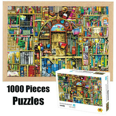 Puzzle Adult Mini 1000Pieces Jigsaw Decompression Game Toy Gift Home Decro