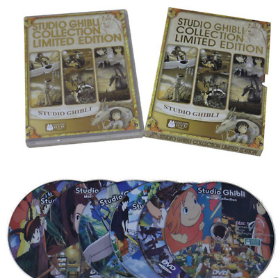 Studio Ghibli Collection Limited Edition (DVD, 6-Disc Set) 18 Moive Films Best