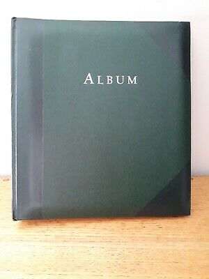 Traditional racing green photo album 30 pages