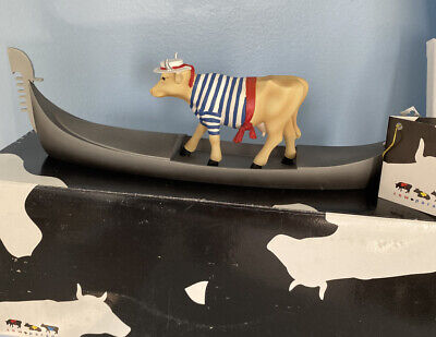 # 9149 Cowdolier RETRIED / RARE Cow Parade in box with tag