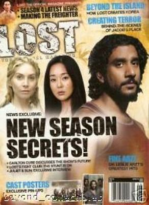 Lost Official Magazine - Cast Cover + 2 Cast Posters - Elizabeth Mitchell #16A