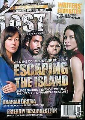 Lost Official Magazine - Cast Cover - Kate + Sun + Hurley - Escaping #20A