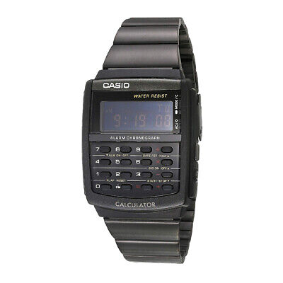 Casio CA506B-1AVT Watch (Black) Unisex Digital Stainless Steel Watch