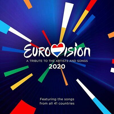 EUROVISION SONG CONTEST 2020 (Rotterdam) 2 CD Set (2020) (New & Sealed)