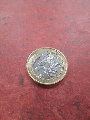 2002 Wales commonwealth games 2 pound coin Good Condition with shine