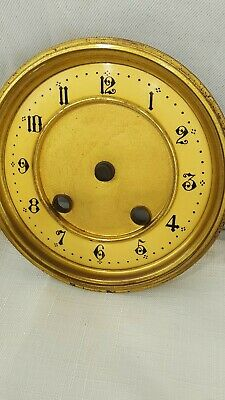ANTIQUE FRENCH CLOCK DIAL, BEZEL & GLASS No.4