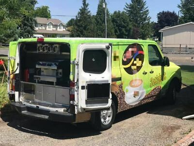 2012 Nissan NV1500 Cargo S Van 3D Used Coffee Truck w/ Commercial Equipment for