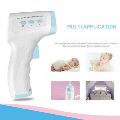 Non-Contact IR Infrared Digital Forehead Fever Thermometer Gun Adult Body