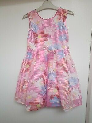 Jasper Conran Girls Dress Age 6 Kids Party Dress Summer Sleeveless Outfit
