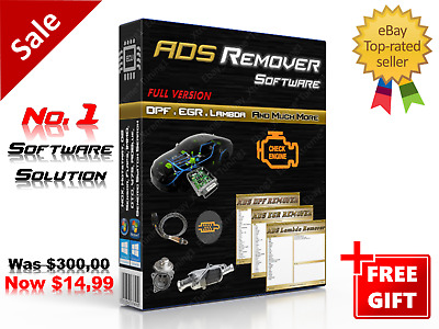 2020 BEST *** DPF EGR LAMBDA - REMOVER SOFTWARE *** 3 in 1