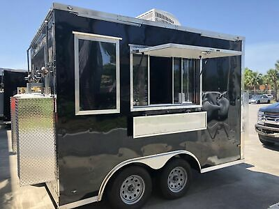 2018 - 8.5' x 12'  Lightly Used Professional Mobile Kitchen Food Concession Trai