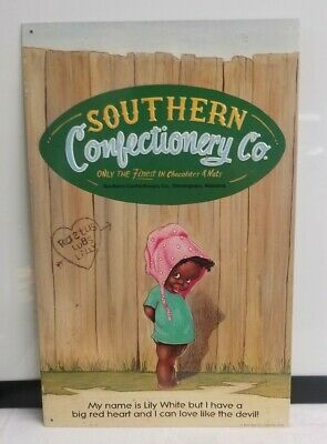 Southern Confectionery Co. Birmingham  Black Americana Sign Vintage Style