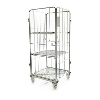 4 Sided Z Frame Roll Container Trolley