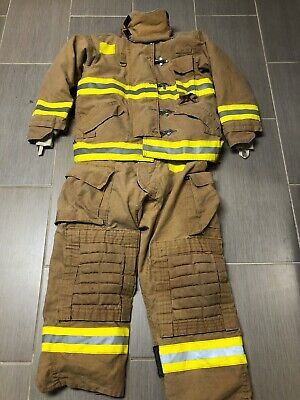 Morning Pride Mfg Firefighting Bunker Turnout Structural Gear Pants Coat