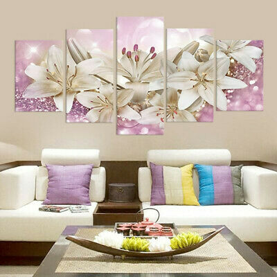 1 Set Unframed Art Oil Painting Picture Canvas Print Wall Living Room Decoration
