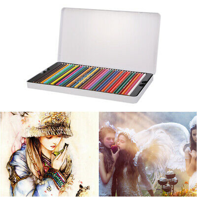 72 Colors Oil Base Art Sketching Drawing Colouring Pencils Set Sketch Gifts