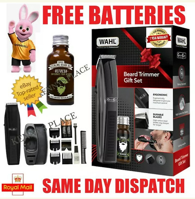 Wahl Performer Cordless Hair Trimmer Clipper Beard Stubble Moustache Neck Body