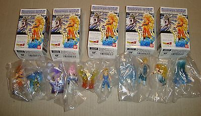 Dragon Ball Z Ultimate Spark Majiin Boo Edition Set Bandai 2007 (Goku/Vegeta/Bu)