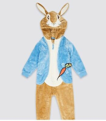 Markand Spencer  Kids Peter Rabbit Jumpsuit  2-3Y Brown Mix