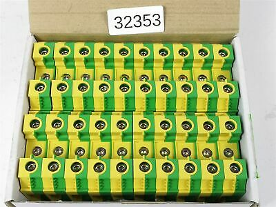 20x as Set! Wieland 35qmm WKN35 Sl / and / V0 Conductor Terminal Clamp Sl-Klemme