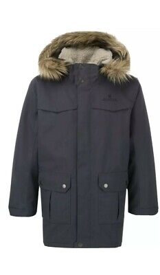 Highgear Unisex Boys Girls District Parker Coat Jacket With Hood 100% Waterproof