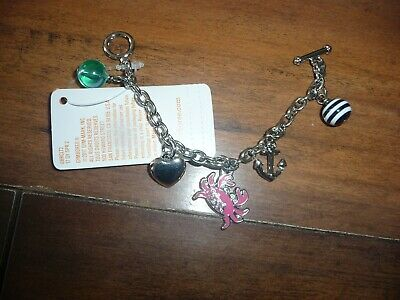 NWT NEW girls shore to love crab charm bracelet Gymboree  PRETTY