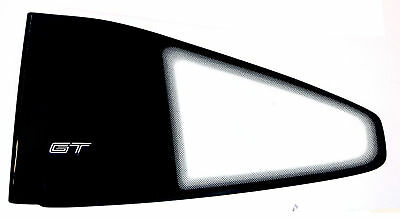86 87 88 Fiero Gt Quarter Glass Window Sail Panel