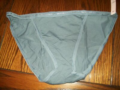 NWT VICTORIA/'S SECRET STRING BIKINI PANTIES COTTON //SPNDX 313897 A9T DEER M L XL