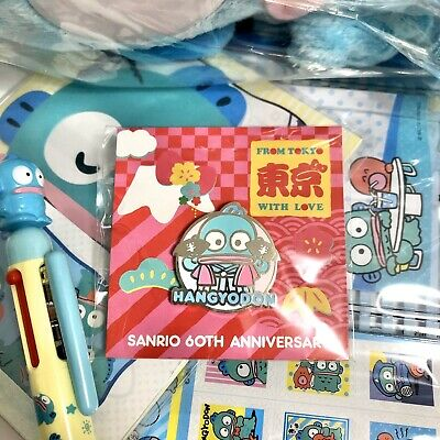 NEW Sanrio 60th Anniversary Friend of the Month Pin Hangyodon - MAY