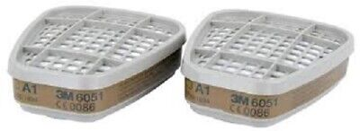 3M 6051 - A1 Gas and Vapour Filters (Pair)