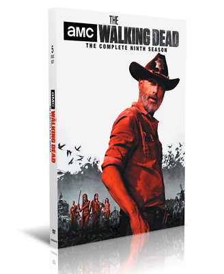 The Walking Dead: The Complete Season 9 (DVD, 2019, 5-Disc Set) New & Sealed